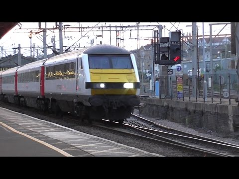 Trains at Colchester, GEML - 13/04/17
