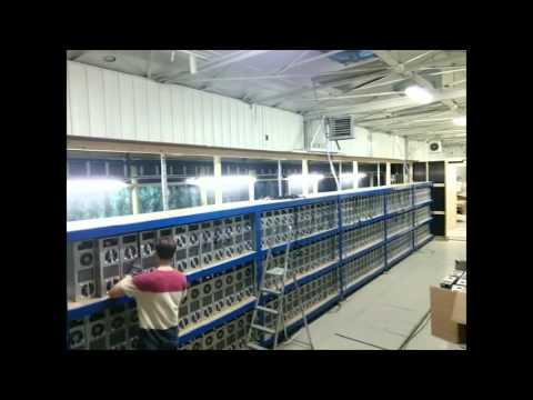 Genesis Mining Server Farm Set-up