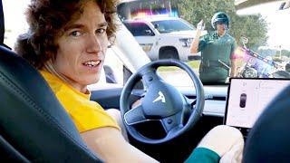 Speeding In Front Of Cops!