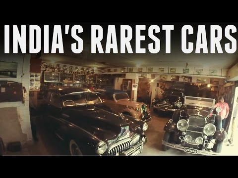 INDIA'S RAREST CARS | PRIVATE COLLECTION |