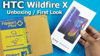 HTC Wildfire x unboxing / First Look    Htc Wildfire X Specifications - Indian Unit