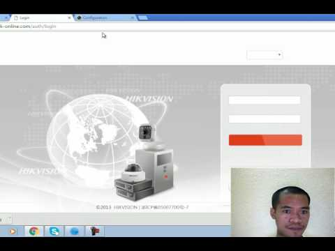 HIKVISION DVR - PORT FORWARDING