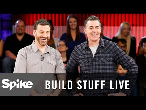 Behind The Scenes with Adam Carolla and Jimmy Kimmel | Build Stuff Live