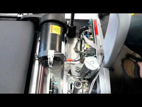 Star Trac Pro 7600 Treadmill Belt Replacement (Part 1)