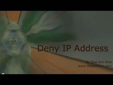 Deny IP Address