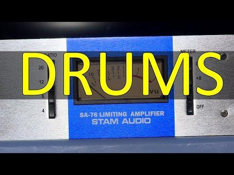 Stam Audio SA-76 Drums Demonstration