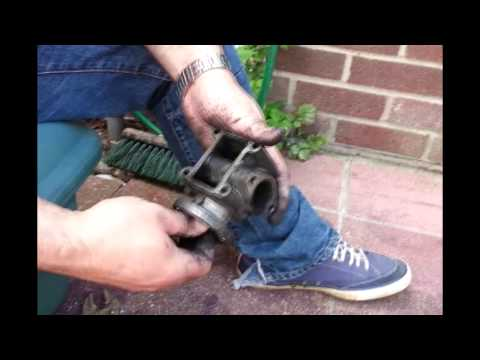 How to Remove, Clean and Replace EGR valve for Vauxhall Zafira 1.9 Diesel