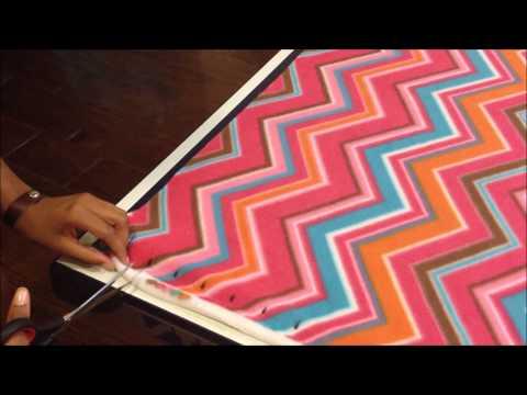 Knots of Love-Tie Blanket Tutorial
