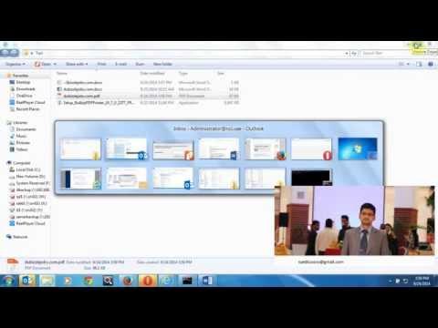 how to convert pdf ,doc,xls,jpg using bullzip software