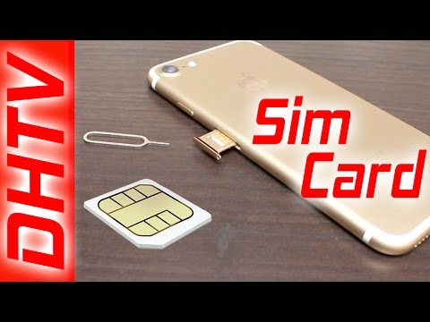 How To Insert/Remove Sim Card From iPhone 7 & iPhone 7 Plus