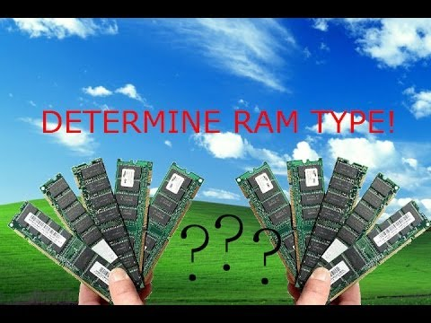 How to Find Out What Type of RAM You Have