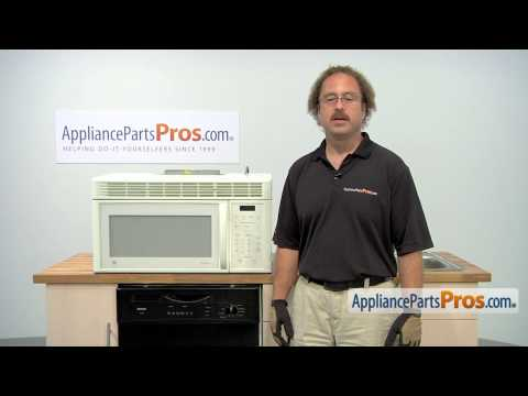 Microwave Grease Filter (part #WB6X486) - How To Replace