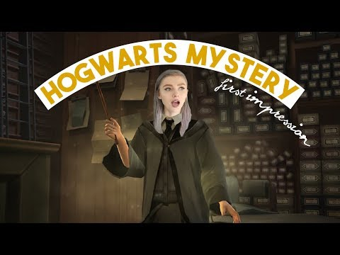 Harry Potter: HOGWARTS MYSTERY ϟϟ first impression