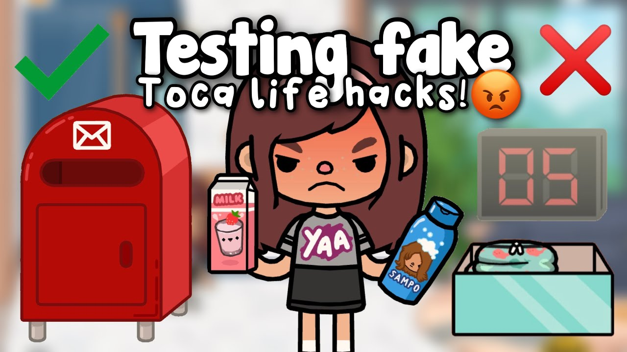 TESTING TOCA LIFE HACKS! 😡🤯 | Toca shine ✨