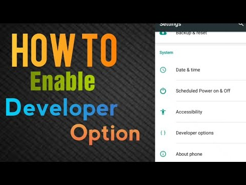 Android Developer Mode - How To Enable Developer Mode in Android Phones