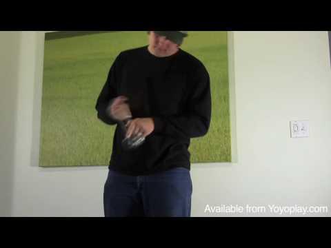 Duncan Freehand Metal Zero Yoyo Demo, with Yoyoing