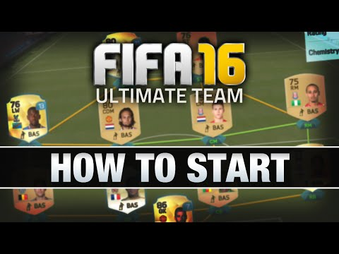 LET'S PLAY FIFA 16 - #1 'HOW TO START' - FIFA 16 ULTIMATE TEAM RTG