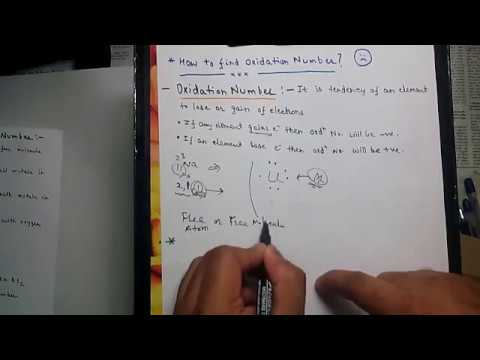 How to Calculate Oxidation Number - JEE Main| Advanced| AIPMT| AIIMS