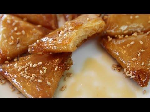 Almond Briwat (Springrolls) Recipe - CookingWithAlia - Episode 294