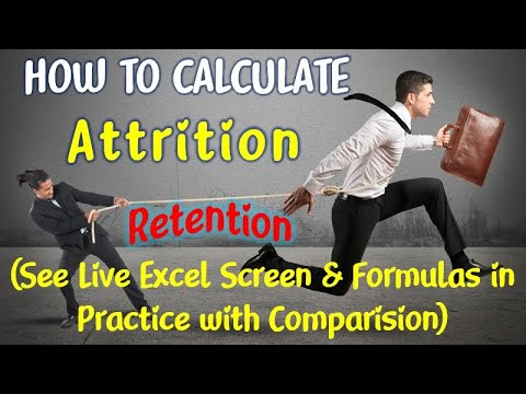 How to Calculate Attrition | Attrition Formulas in Practice | Attrition Analysis | Attrition Rate