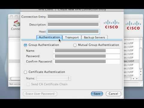 Cisco VPN Client for Mac OS