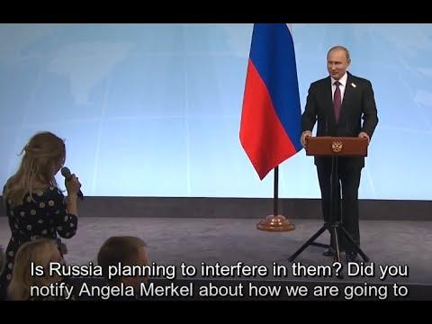 Putin trolls Merkel: Russia Doesn't Plan to Hack German Elections