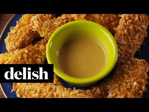 Frosted Flakes Chicken Tenders | Delish