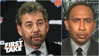 Stephen A. on James Dolan's response to the protests following George Floyd's death   First Take