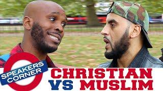 Christian Godwin vs Muslim | Did Jesus Die? | Speakers Corner