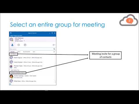 How to send Skype invite from Microsoft Outlook 2016?