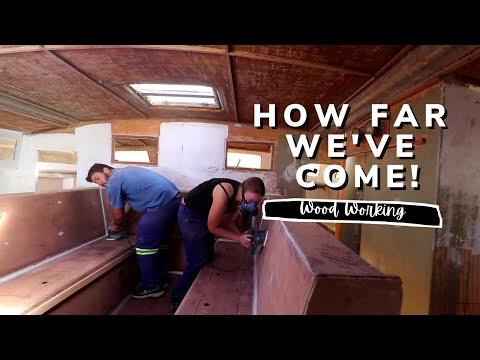 How far we've come! [ Yacht Refit & Restoration Week 16] (Ep.21)