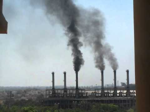 AIR POLLUTION BY KPCL DIESEL GENERATING PLANT AT BANGALORE, INDIA