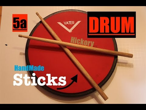 how to make drum sticks + test.