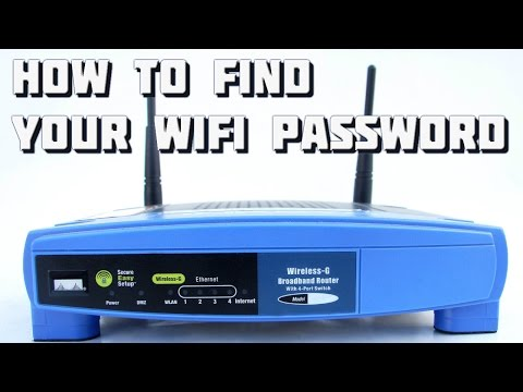 How to Find Your Wifi Password - Windows 7, 8 or 8.1