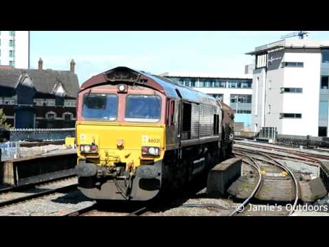 Trains At Rhoose, Bridgend and Cardiff Central