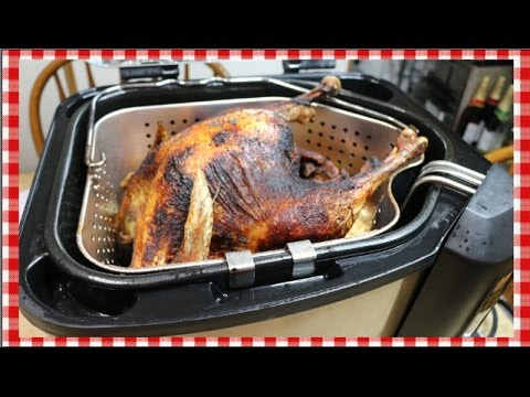 Frying A Turkey Start To Finish In A Masterbuilt How To Fry A Turkey