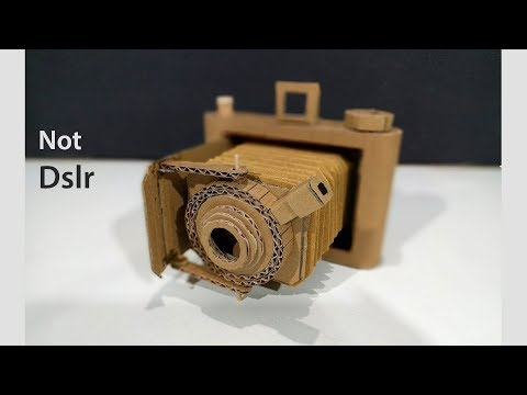 How to make A NOT Dslr Camera from Cardboard