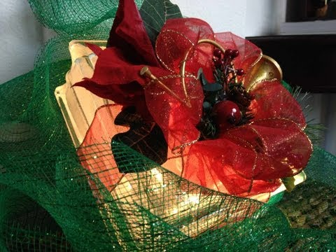 Crafts: Glass Block Gift Box for decoration with lights