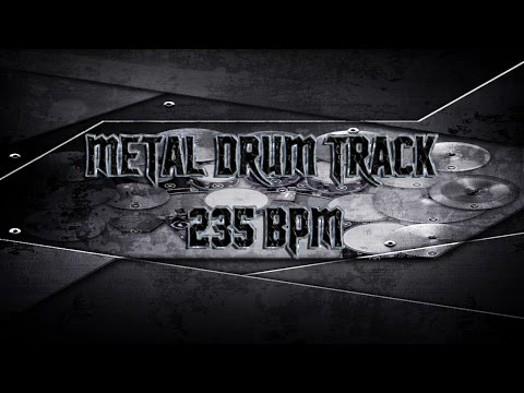 Napalm Death Style Metal Drum Track 235 BPM | Preset 2.0 (HQ,HD)