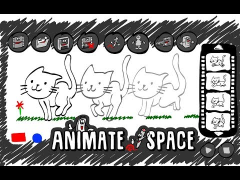 Draw an animation online or using application - Animate your Space!