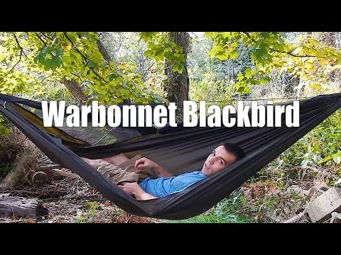 Warbonnet Blackbird hammock review