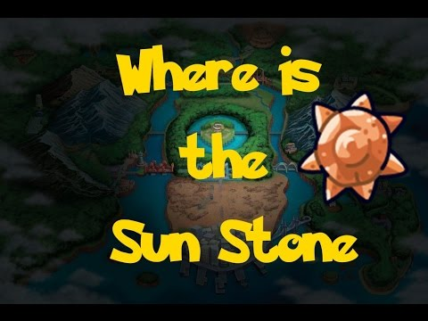 Where Is: The Sun Stone (Location 2) (Pokemon Black/White)