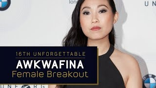 Awkwafina - Female Breakout Award at the 16th Unforgettable Gala
