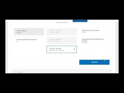 How to Deposit Points into RCI