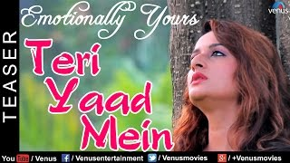 Teri Yaad Mein - Teaser   Sad Song   Shruti Rane   Latest Hindi Song 2016