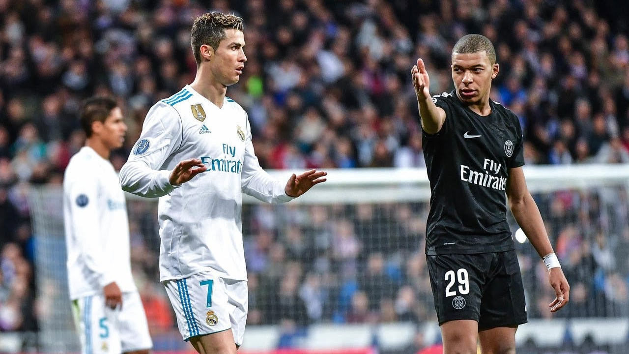 The Day Ronaldo And Mbappe Met For The First Time