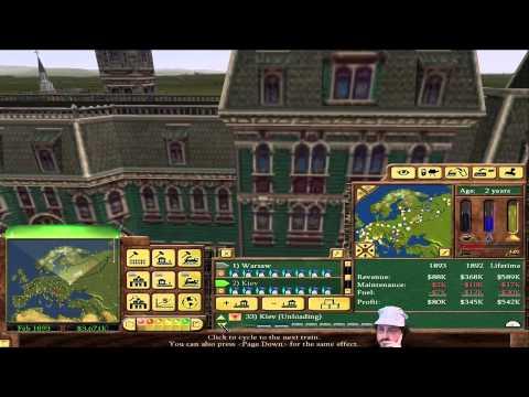 Railroad Tycoon 3 - European Tycoon! #3 [1.06 Fanpatch]