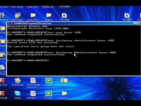 Cool XP Command Prompt Tricks! Make Yourself Admin! Access Blocked Websites and More!