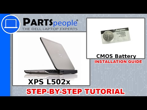 Dell XPS 15 (L502X) CMOS Battery How-To Video Tutorial