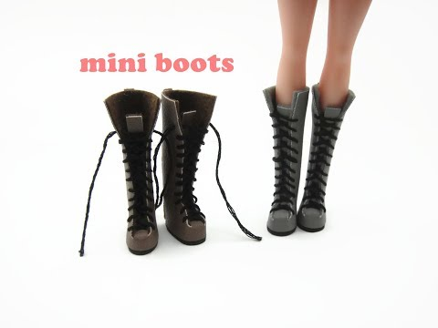 DIY Miniature Doll Mini Long Boots Shoes Sneakers